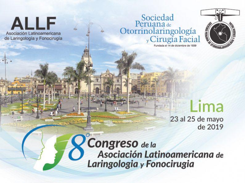 8º Congresso da Associação Latino-Americana de Laringologia e Fonocirurgia (ALLF)