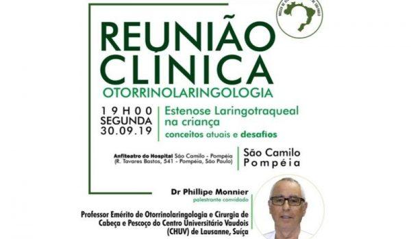 Cirurgia Reconstrutiva - Estenose Laringotraqueal na Criança