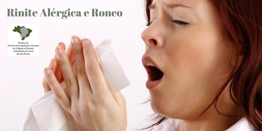 rinite-alergica-ronco